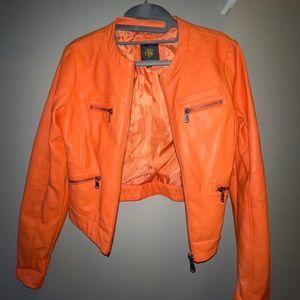 Obr Faux Leather Jacket
